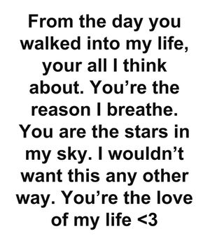 Best Love Quotes Youre The Reason I Breathe You Are The Stars In