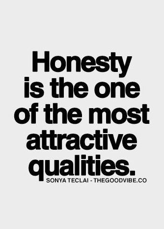 Best Love Quotes Honesty Is The Most Attractive Qualities