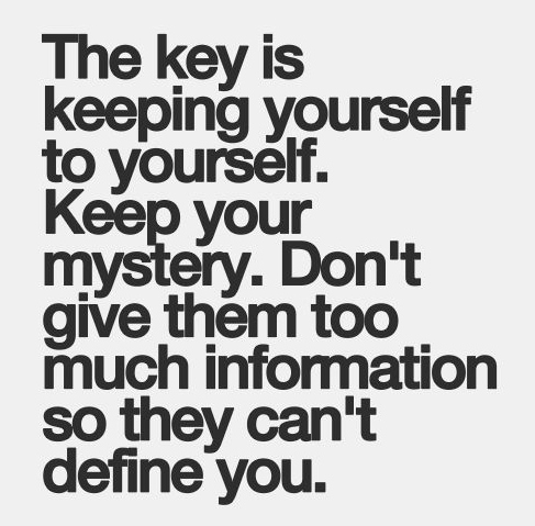best love quotes- the key is keeping yourself to yourself