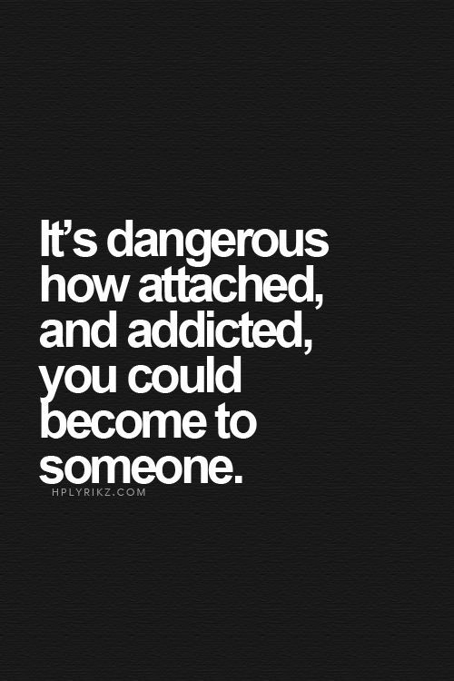 Addicted To Someone Sexually