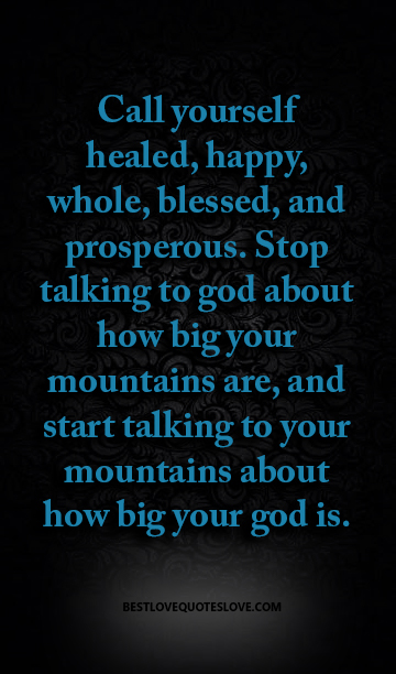 Call yourself healed, happy, whole, blessed | Galaxies Vibes
